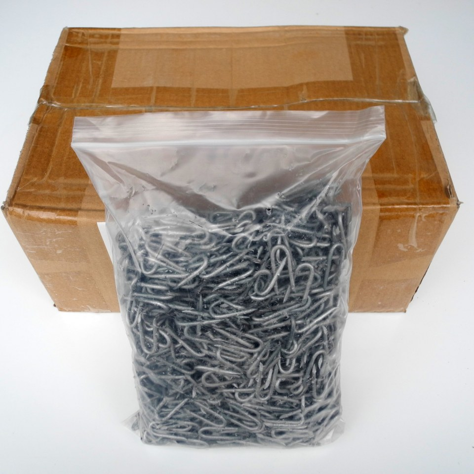Box of Galvanised Staples